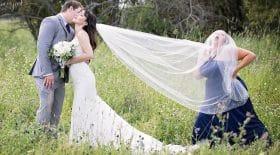 Aide pour les photos de mariage
