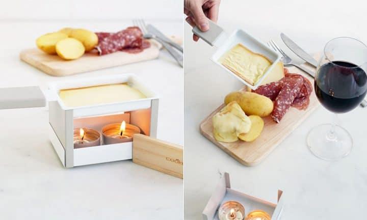 mini raclette pliable