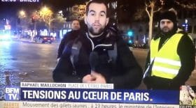 oeuf journaliste bfm tv