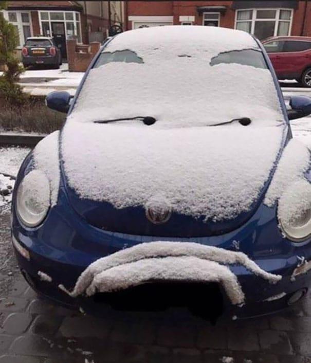 voiture pas contente