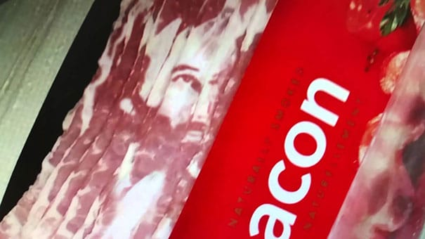 bacon jésus