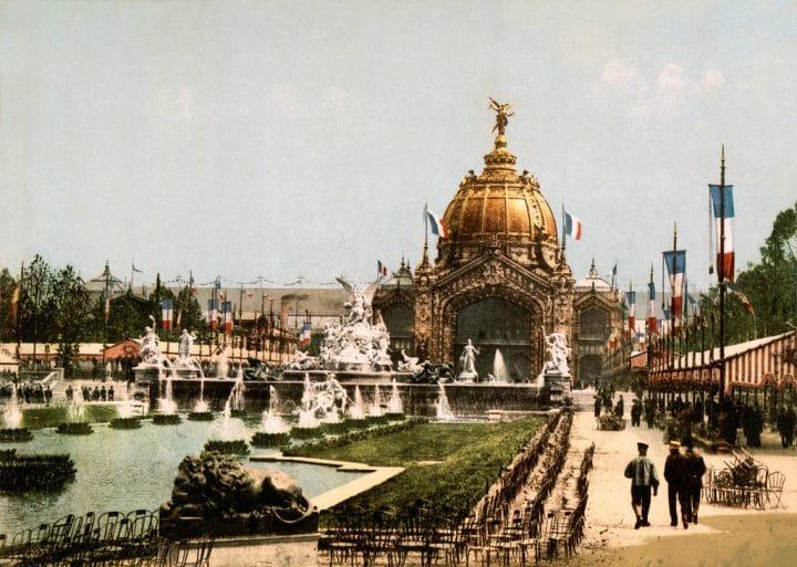 Paris pendant l'exposition universelle de 1889