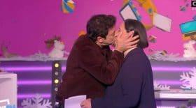 Le baiser surprise de Patrick Bruel à Danielle Moreau