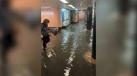 Des inondations à Melbourne