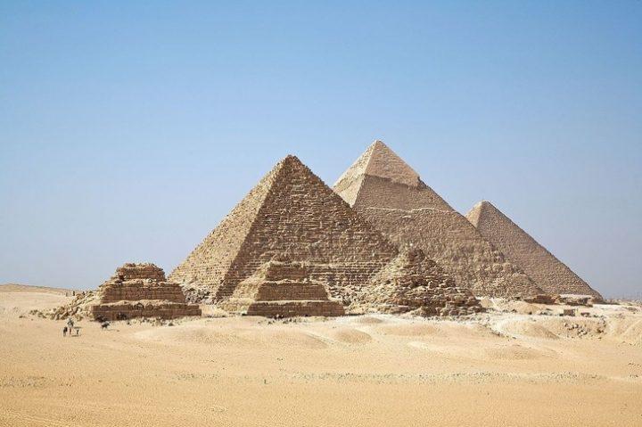 Pyramides Gizeh
