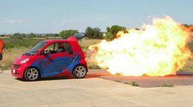 smart équipée turbo réacteur