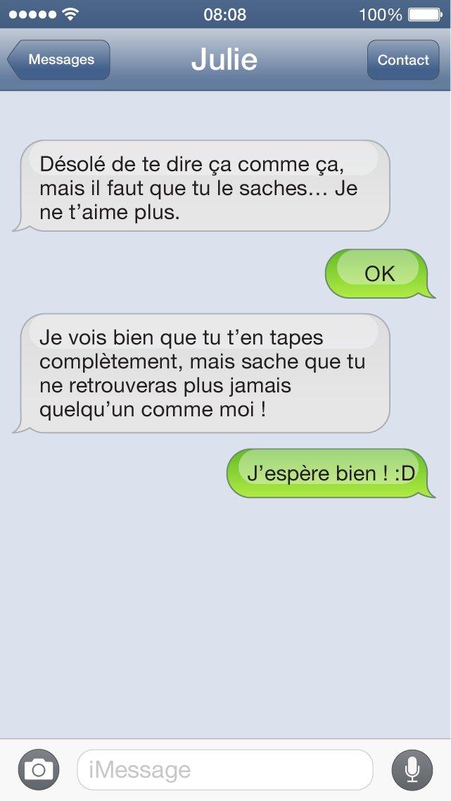 SMS bat les couilles