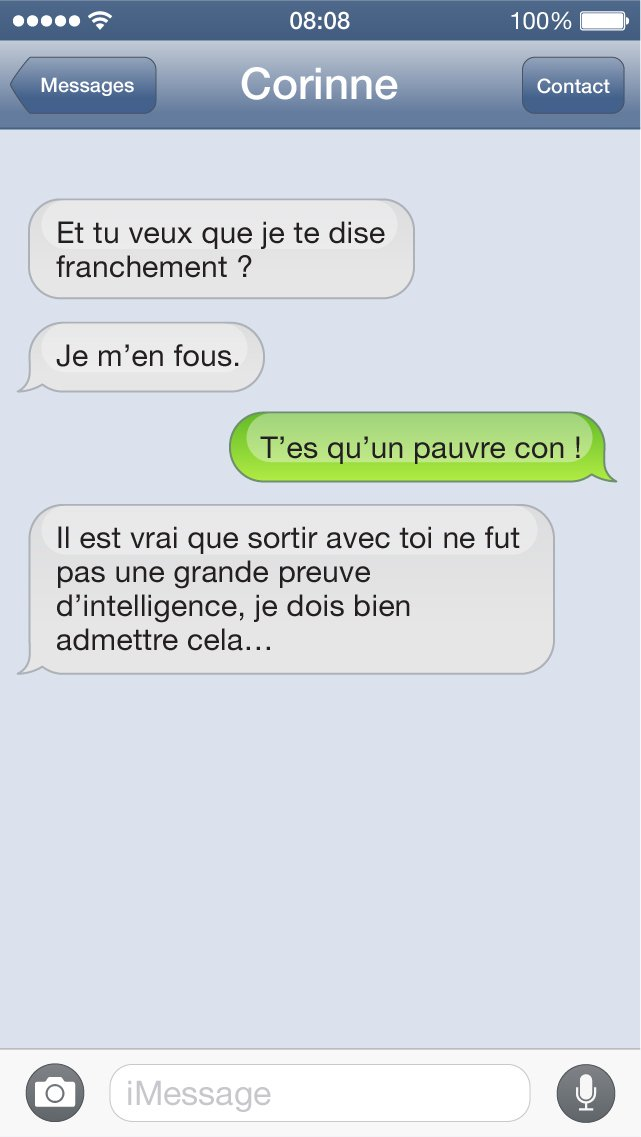 SMS con