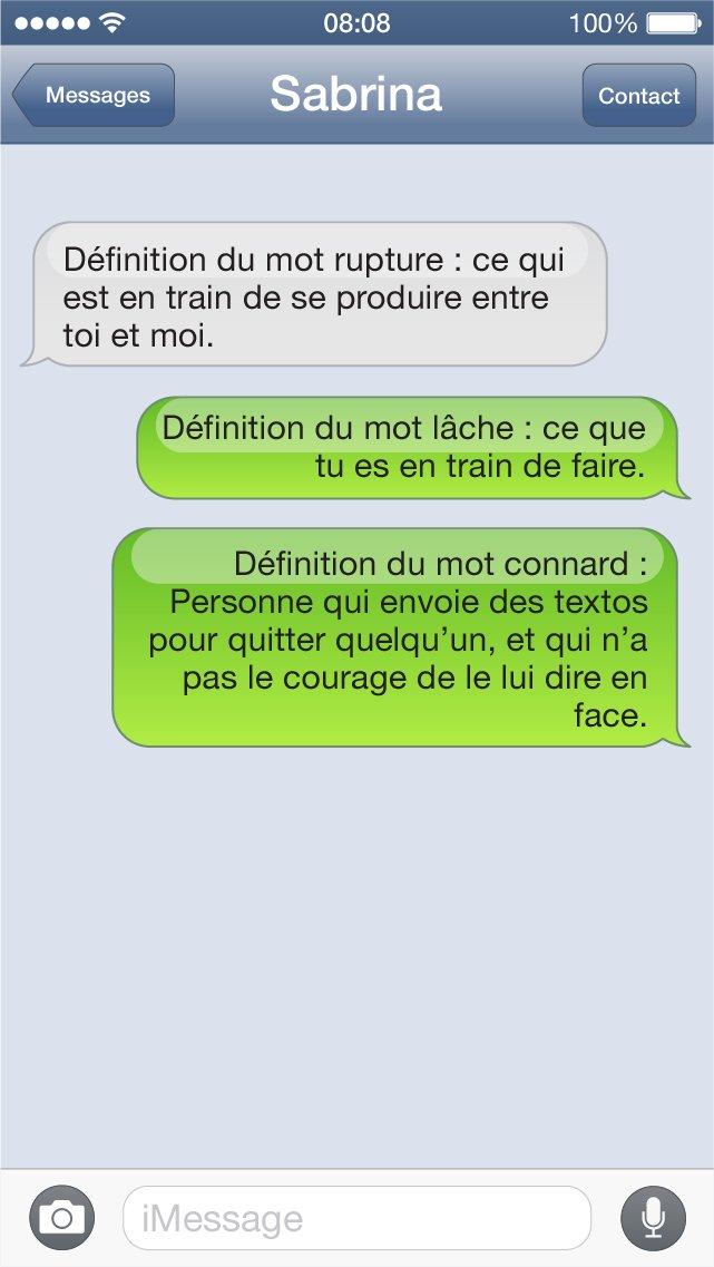 SMS définition
