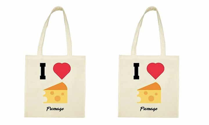 tot bag fromage