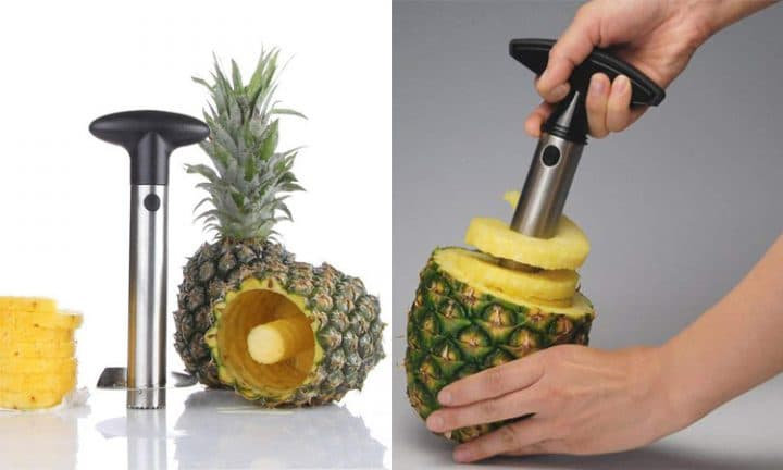 trancheuse ananas