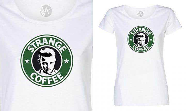 t shirt strange coffee
