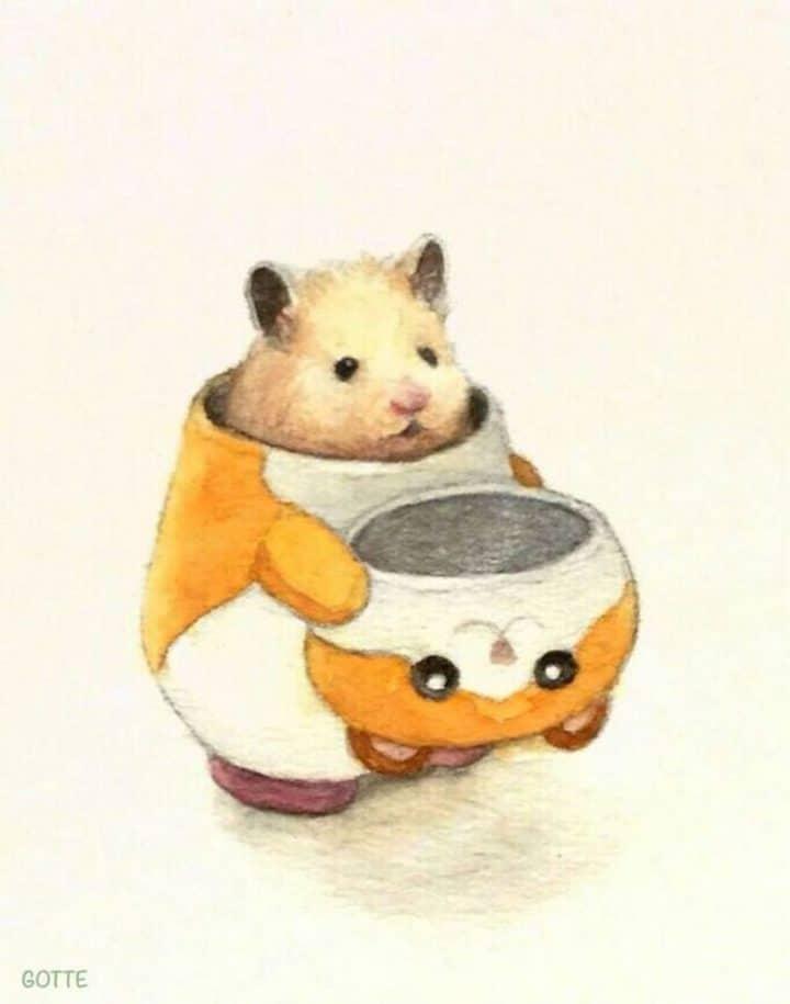 aventures-hamster-peinture-aquarelle