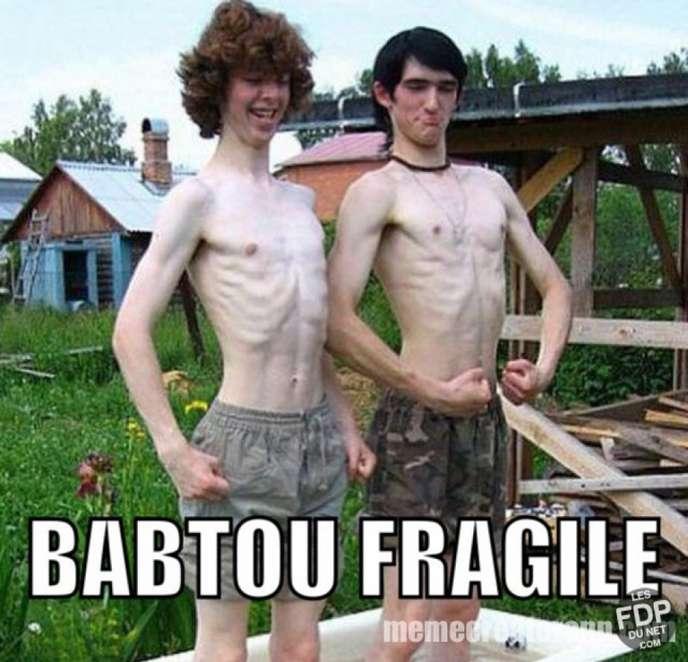 Babtou fragile