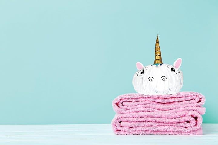 bonnet bain licorne
