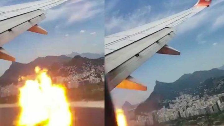 boules de feu réacteurs avion