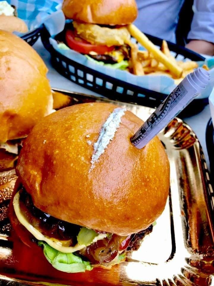 burger cocaine