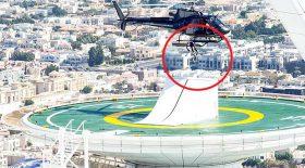 champion de BMX lâché depuis un hélicoptère