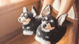 chaussons-personnalisables-peluche-geante-chien-instagram