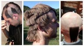 coupe de cheveux foirée