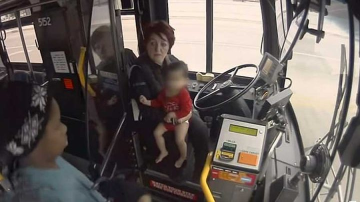 conductrice du bus sauve un bébé