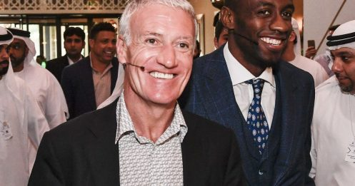 Didier Deschamps explique la raison de sa nouvelle dentition