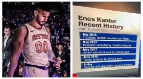 enes kanter contre erdogan