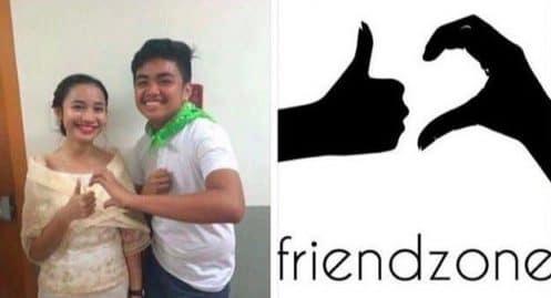 Le logo de la friendzone