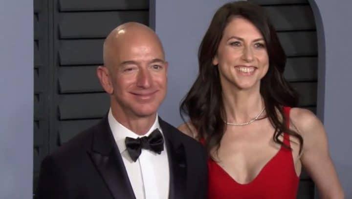 Jeff Bezos et sa femme
