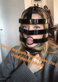 Laura Smet créé la surprise avec son masque SM Sur Instagram