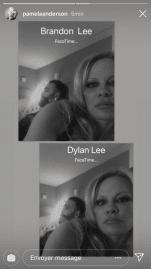 Pamela Anderson dévoile une photo avec son chéri