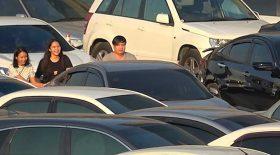 parking rempli puzzle voitures
