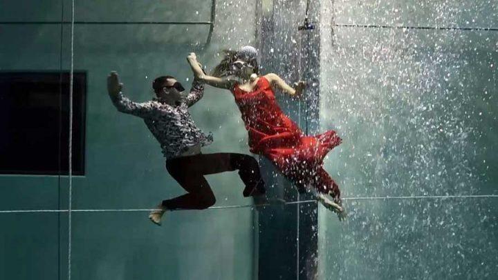 record danse aquatique apnée