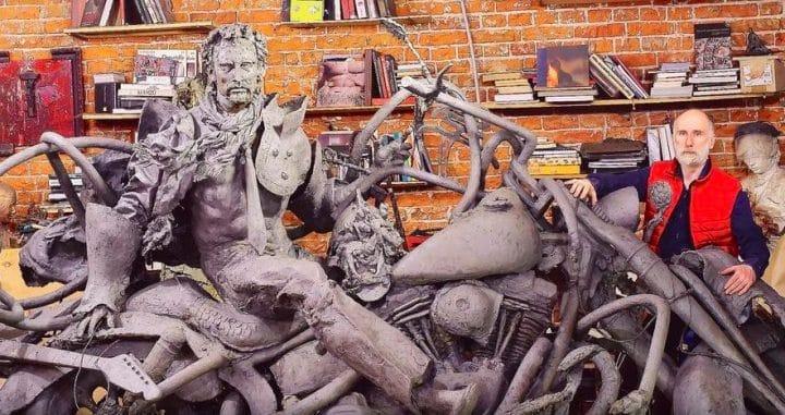 Statue de Johnny Hallyday