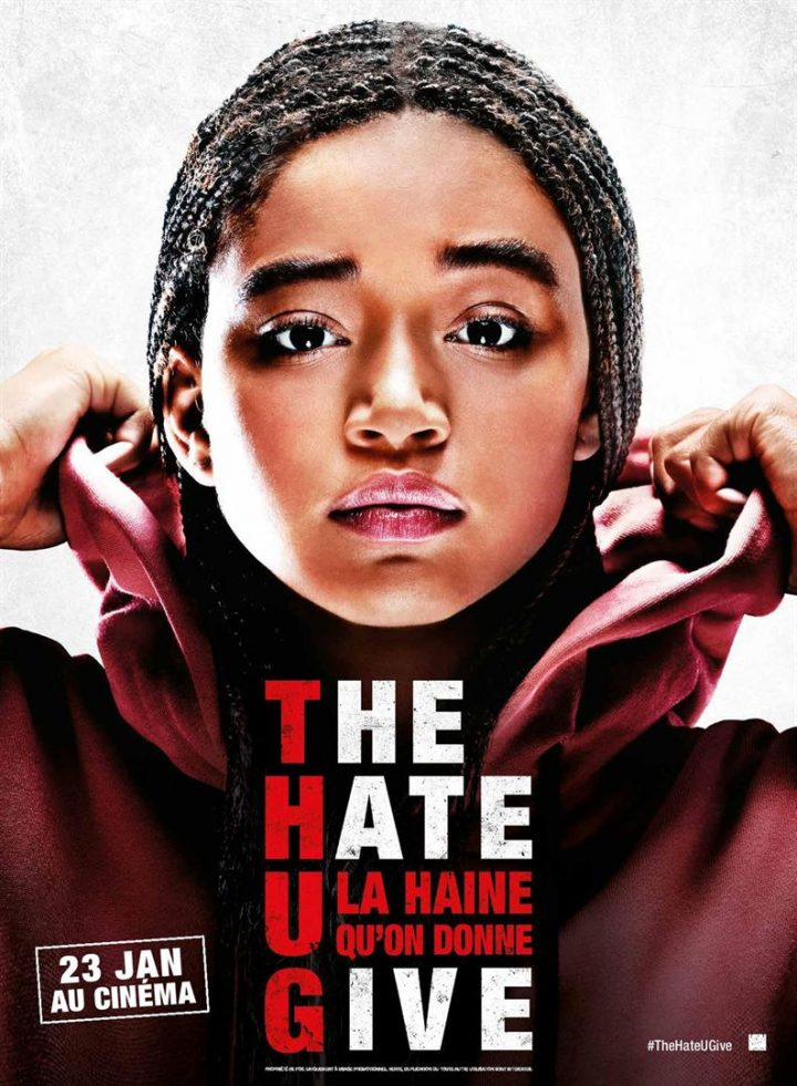 affiche the hate u give