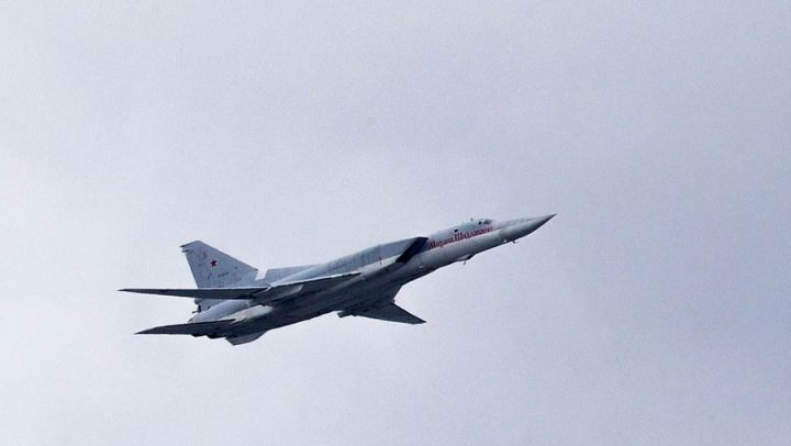 tupolev avion militaire se casse en deux