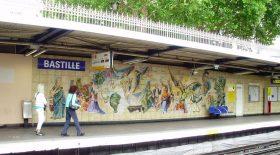 Métro Bastille