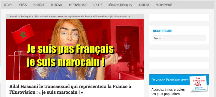 Bilal hassani marocain