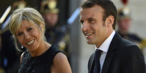 Brigitte Macron et Emmanuel Macron toujours fous amoureux