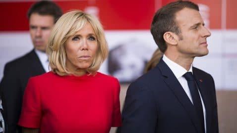 Brigitte Macron surprise avec son mari durant un moment intime