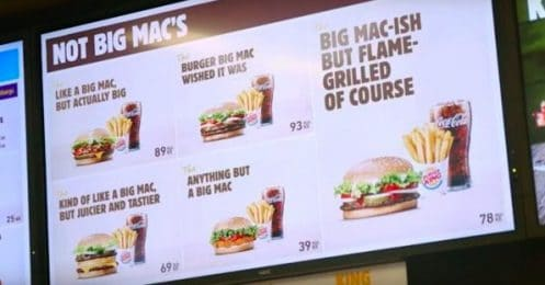 Burger King Big Mac