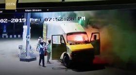 Camionnette Inde