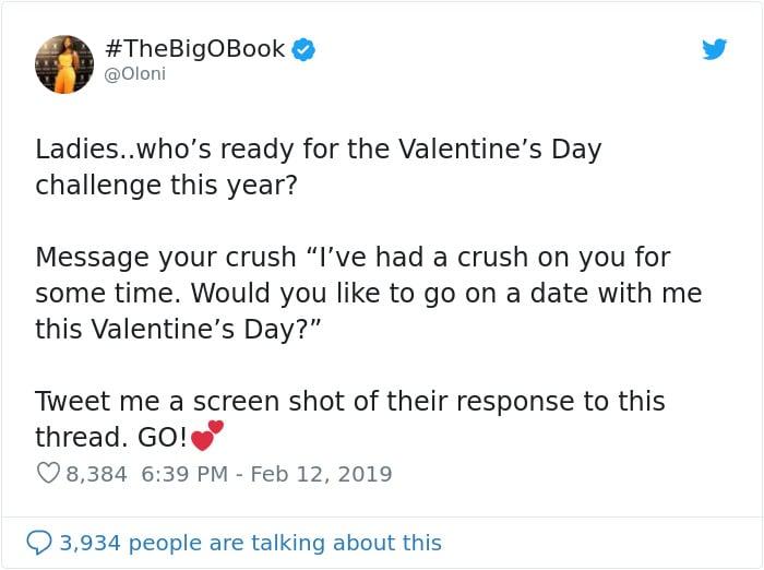 Challenge Saint Valentin