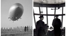 Collage dirigeable Hindenburg