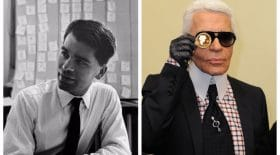 Collage Karl Lagerfeld