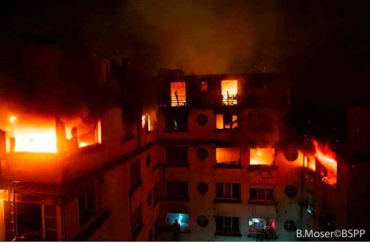 Incendie Paris