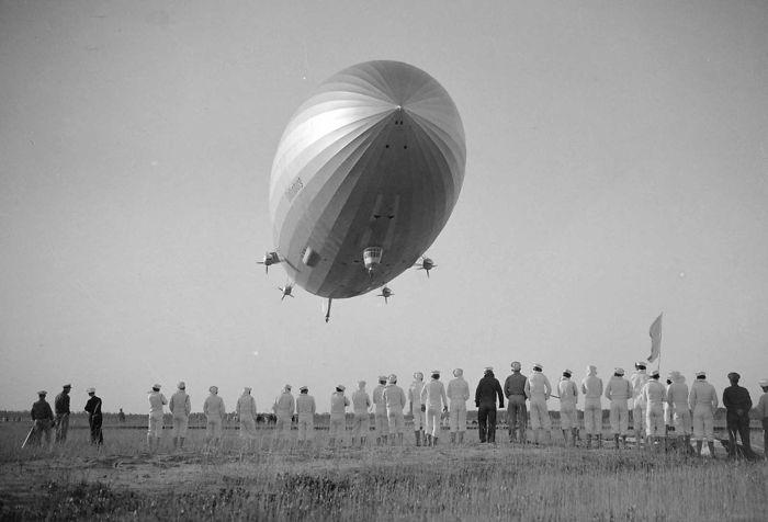 Hindenburg en vol