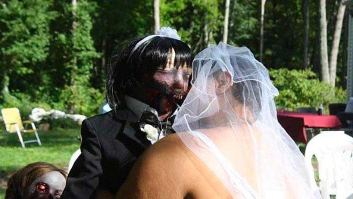 mariage poupée zombie