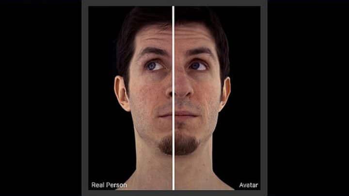 avatars réalistes 3D facebook messenger