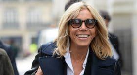 Brigitte Macron reçoit des lauréates à l'Elysée en jean